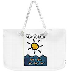 New Yorker June 10th, 1972 Weekender Tote Bag