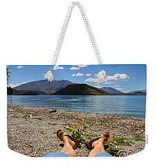 New Zealand Christmas Weekender Tote Bag