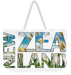 Weekender Tote Bag featuring the photograph New Zealand by Jocelyn Friis