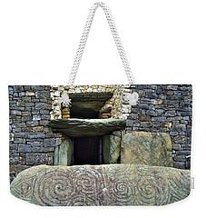 Newgrange Entrance Weekender Tote Bag