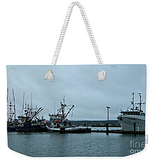 Newport Fishing Boats Weekender Tote Bag