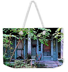 Weekender Tote Bag featuring the photograph Next Door To Aunt Agnes by Patricia Greer