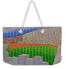 Ney York Cityscape Weekender Tote Bag