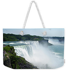 Niagara Falls Weekender Tote Bag by Aimee L Maher Photography and Art Visit ALMGallerydotcom