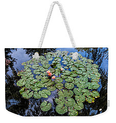Weekender Tote Bag featuring the photograph Nice Pad by Glenn DiPaola
