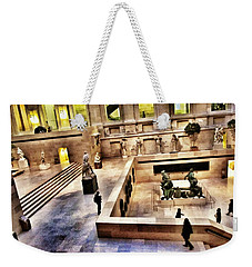 Night At The Louvre Weekender Tote Bag by Marianna Mills