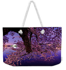 Night Blossoms Weekender Tote Bag