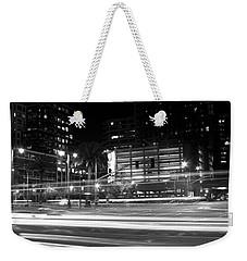 Night Blurs Weekender Tote Bag