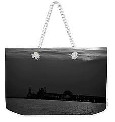 Night Bridge Weekender Tote Bag