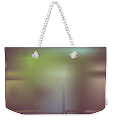 Weekender Tote Bag featuring the digital art Night Bridge by Kevin McLaughlin