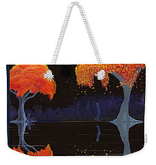 Night Companions  Weekender Tote Bag