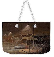Night Drive Weekender Tote Bag
