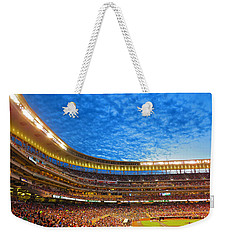 Night Game At Target Field Weekender Tote Bag