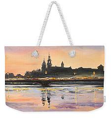 Night In Krakow Weekender Tote Bag
