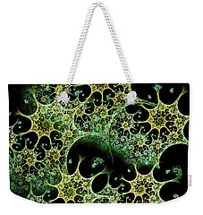 Night Lace Weekender Tote Bag