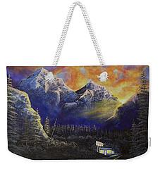 Night Life Weekender Tote Bag by Jack Malloch