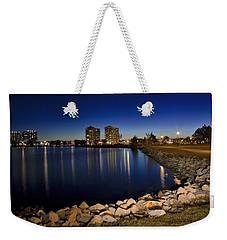 Night Light In Barrie Weekender Tote Bag