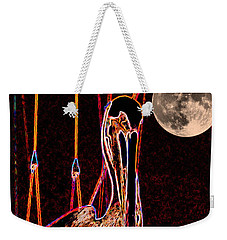 Weekender Tote Bag featuring the photograph Night Light by Robert McCubbin
