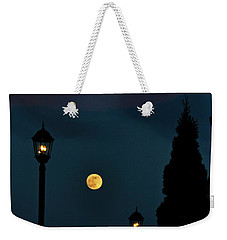 Night Lights Weekender Tote Bag by Lydia Holly