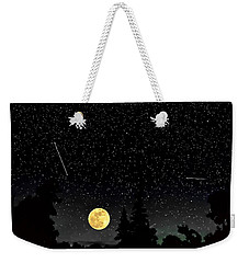 Night Moves Weekender Tote Bag by Steve Harrington