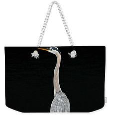 Night Of The Blue Heron 3 Weekender Tote Bag
