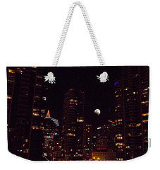 Weekender Tote Bag featuring the photograph Night Passage - San Diego by Glenn McCarthy
