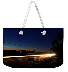 Night Passing Weekender Tote Bag