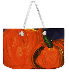 Night Pumpkins Weekender Tote Bag