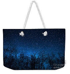Night Stars Weekender Tote Bag