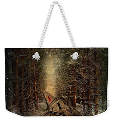 Night Story Weekender Tote Bag by Svetlana Sewell