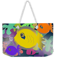 Night Swimming Weekender Tote Bag