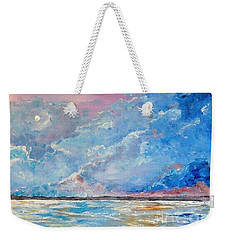 Night Weekender Tote Bag by Teresa Wegrzyn