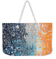 Night To New Day Weekender Tote Bag