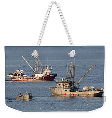 Night Train Weekender Tote Bag