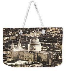 Night View Over St Pauls Weekender Tote Bag