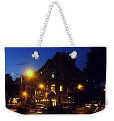 Weekender Tote Bag featuring the photograph Night View by Salman Ravish