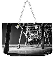 Night View Under San Clemente Pier Weekender Tote Bag