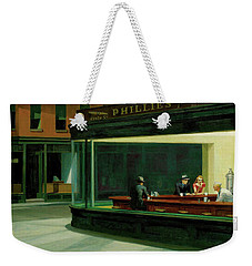 Nighthawks Weekender Tote Bag by Edward Hopper