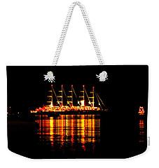 Nightlife On The Water Weekender Tote Bag