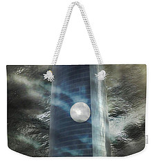 Nightmare Tower Weekender Tote Bag by Rosa Cobos