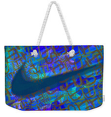 Nike Just Did It Blue Weekender Tote Bag