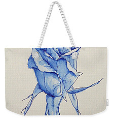 Niki's Rose Weekender Tote Bag by Marna Edwards Flavell