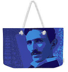 Nikola Tesla #2 Weekender Tote Bag