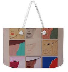 Nine Ladies Lolling Weekender Tote Bag