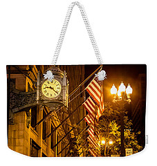 Nine Twenty Two In Chicago And All Is Well Weekender Tote Bag