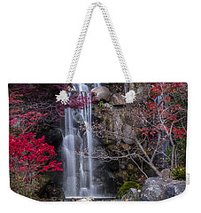 Weekender Tote Bag featuring the photograph Nishi No Taki by Sebastian Musial