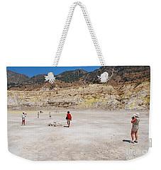 Nisyros Volcano Greece Weekender Tote Bag