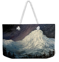 Nite Fall On The Butte Weekender Tote Bag