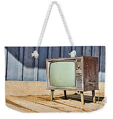 No Channel Surfing - Tv By Diana Sainz Weekender Tote Bag