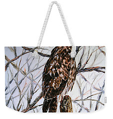 No Hunting Weekender Tote Bag by Craig T Burgwardt